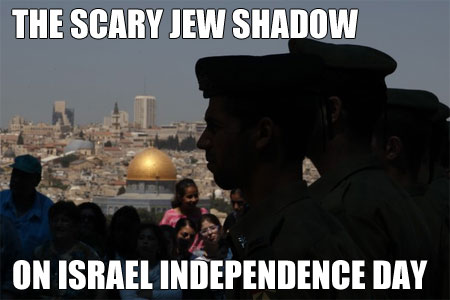 LGF Pages - The Scary Jew Shadow on Israel Independence Day