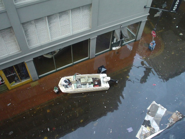 associated press confirms flooding and floating bodies near brian