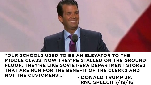 On the Second Night of the GOP Convention, Donald Trump Jr. Gets His ...
