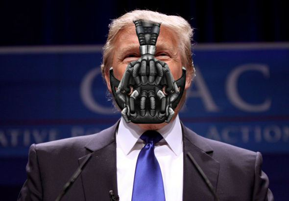 Think of Bane, the would-be dictator of Gotham in Batman, who promises an end to democratic corruption, weakness and loss of civic pride. He sought a revolution against the prevailing elites in order to gain total power unto himself.