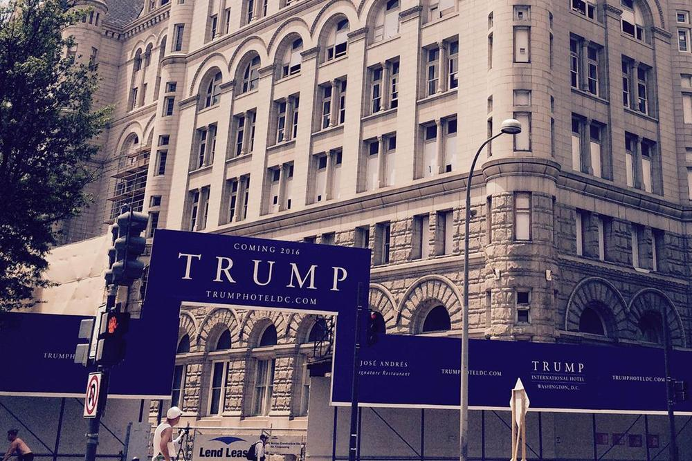 trump hotel lease profit