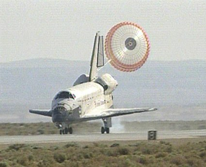 space shuttle landing distance - photo #38