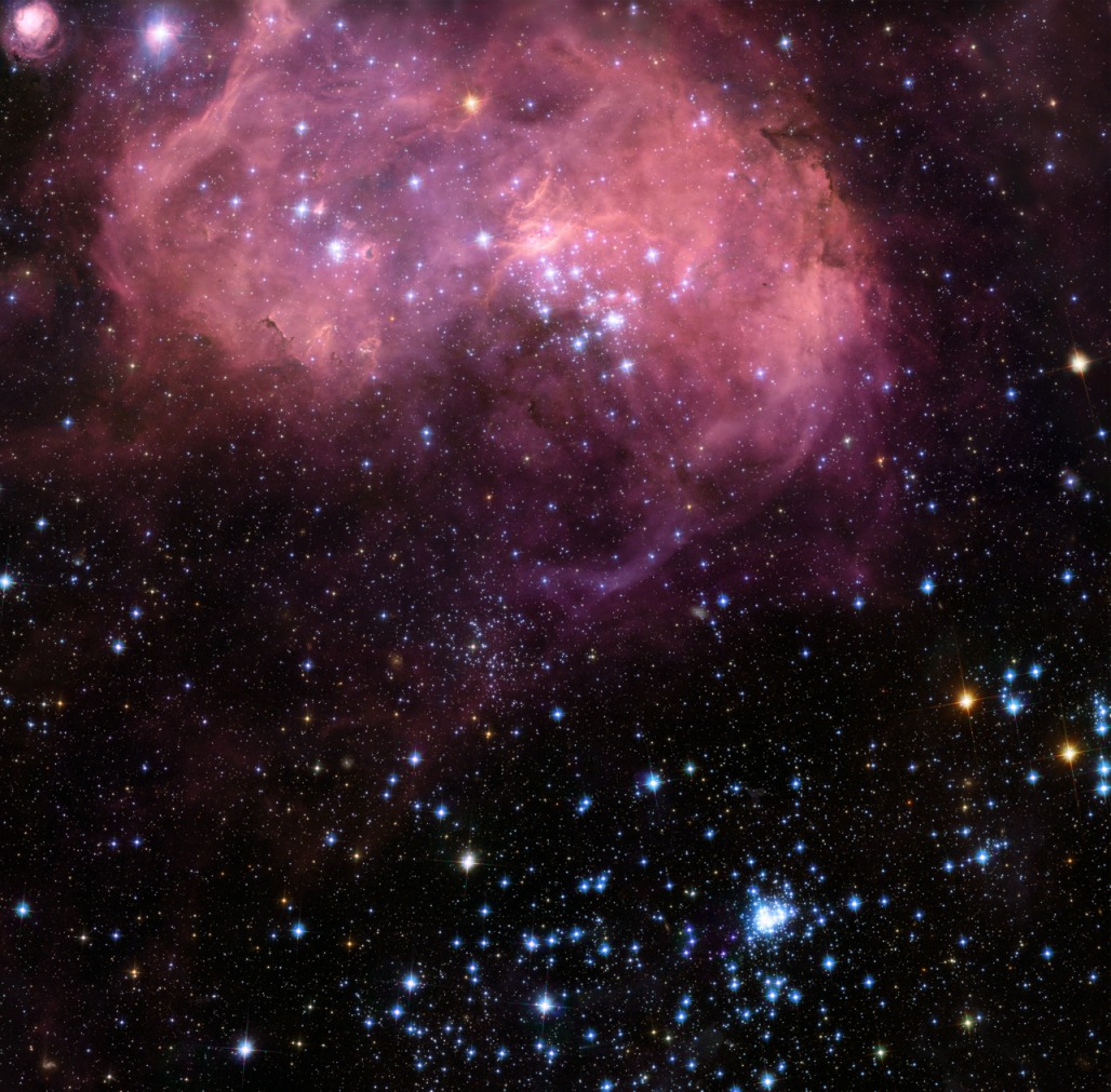 Giant space brain sighted by hubble telescope