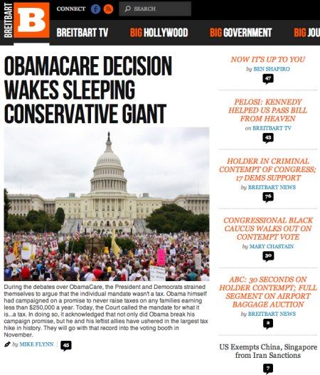 sleeping giant conservative