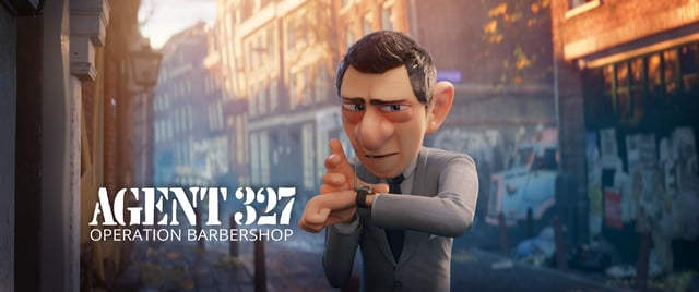 "And Now, a Brilliant Animated Short: Agent 327 in ""Operation Barbershop"""