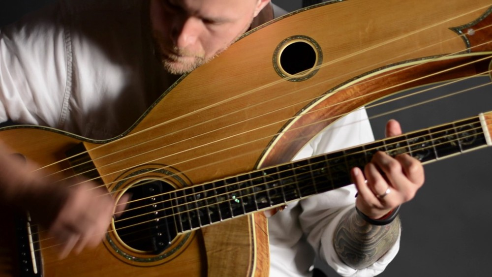 "A Beautiful Harp Guitar Piece From Alex Anderson: ""Tree of Life"""