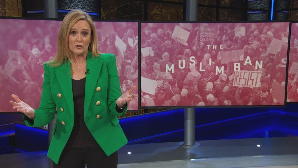 A Reminder From Samantha Bee: The Muslim Ban Is Still a Thing [VIDEO]